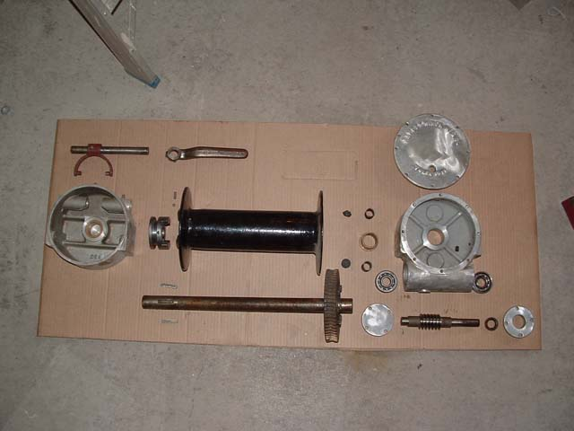 Repair Parts for Ramsey Winch